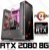 (Recomendado) PC Gamer PRO AMD Ryzen 7 2700X, 64GB DDR4, SSD M.2 480GB, HD 3TB, GPU GEFORCE RTX 2080 OC 8GB - Imagem 1