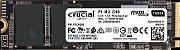 SSD CRUCIAL P1 M.2 2280 1 Tera NVMe Leituras: 2000MB/s e Gravações: 1700MB/s - CT1000P1SSD8 - Imagem 1