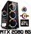 (Recomendado) PC Gamer AMD Ryzen 7 2700X, 16GB DDR4, SSD 480GB, HD 2TB, GPU GEFORCE RTX 2080 OC 8GB - Imagem 1