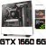 (Recomendado) PC Gamer AMD Ryzen 5 2600, 16GB DDR4, SSD NVME 256GB, HD 1 Tera, GPU GEFORCE GTX 1660 OC 6GB - Imagem 1