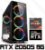 PC Gamer AMD Ryzen 7 2700, 16GB DDR4, SSD 480GB, HD 1 TERA, GPU GEFORCE RTX 2060 SUPER 8GB - Imagem 1