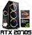 (Recomendado) PC Gamer AMD Ryzen 5 3600X, 16GB DDR4, SSD 480GB, GPU GEFORCE RTX 2070 SUPER 8GB - Imagem 1