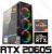 PC Gamer AMD Ryzen 9 3900X, 16GB DDR4, SSD PCI-E 512GB, GPU GEFORCE RTX 2060 SUPER 6GB - Imagem 1