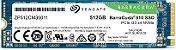 SSD M.2 NVME 512GB PCI-E SEAGATE BARRACUDA, Leitura 3400MB/s, Gravação 2100MB/s - ZP512CM30041 - Imagem 3