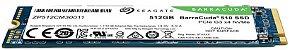 SSD M.2 NVME 512GB PCI-E SEAGATE BARRACUDA, Leitura 3400MB/s, Gravação 2100MB/s - ZP512CM30041 - Imagem 6