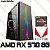 (Recomendado) PC Gamer AMD Ryzen 7 2700, 16GB DDR4, SSD 480GB, GPU AMD RADEON RX 570 8GB - Imagem 1