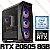 PC Gamer Intel Core i5 Coffee Lake 8600K, 16GB DDR4, SSD NVME 256GB, GPU GEFORCE RTX 2060 SUPER 8GB - Imagem 1