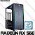 PC Gamer Intel Core i3 Haswell 4130, 8GB DDR3, SSD 240GB, GPU AMD RADEON RX 560 4GB - Imagem 1