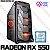 PC Gamer Intel Core i3 Haswell 4130, 8GB DDR3, HD 1 Tera, GPU AMD RADEON RX 550 4GB - Imagem 1