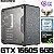 PC Gamer TUF Intel Core i3 Coffee Lake 9100F, 16GB DDR4, SSD M.2 NVME 240GB, GPU GEFORCE GTX 1660 SUPER 6GB - Imagem 1