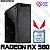 PC Gamer Intel Core i3 Coffee Lake 9100F, 8GB DDR4, SSD 240GB, GPU AMD RADEON RX 580 OC 8GB - Imagem 1