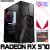 PC Gamer AMD Ryzen 3 3100, 8GB DDR4, HD 1 Tera, GPU AMD RADEON RX 570 OC 4GB - Imagem 1