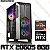 PC Gamer AMD Ryzen 5 5600X, 16GB DDR4, HD 1 Tera, GPU GEFORCE RTX 2060 SUPER 8GB - Imagem 1
