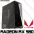 PC Gamer Intel Core i3 10100F, 8GB DDR4, SSD 60GB, HD 1TB, GPU AMD RADEON RX 580 8GB - Imagem 1