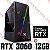 PC Gamer AMD Ryzen 5 3500, 16GB DDR4, SSD 240GB, HD 1 Tera, GPU GEFORCE RTX 3060 12GB - Imagem 1