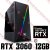 PC Gamer Intel Core i9 Coffee Lake 9900K, 16GB DDR4, SSD 1 Tera, GPU GEFORCE RTX 3060 12GB - Imagem 1