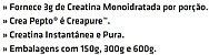 Crea Pepto (Creatina Creapure) - Performance - Imagem 4