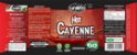 Canela, Gengibre e Pimenta Termogênico 60 cápsulas Hot Cayenne - Imagem 2