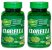 2 Potes de Clorella 120 cápsulas (500mg) - Unilife - Imagem 1