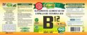 CianoCobalamina B12 Vitamina - Kit com 3 - 180 caps - Unilife - Imagem 2