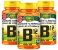 CianoCobalamina B12 Vitamina - Kit com 3 - 180 caps - Unilife - Imagem 1
