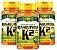 Menaquinona k2-Mk7 - Kit com 3 - 180 caps (500mg) - Unilife - Imagem 1