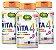 Vita4 com Cálcio, Magnésio, Vitamina D3 e K2 - Kit com 3 - 180 caps - Imagem 1