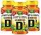 Vitamina D3 - Kit com 3 - 180 Caps (470mg) Colecalciferol - Unilife - Imagem 1