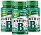 Vitaminas do Complexo B - Kit com 3 - Unilife 180 Caps 500mg - Imagem 1