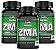 ZMA  - Zinco, Magnésio E Vitamina B6 - Kit com 3 - 360 Caps Unilife - Imagem 1