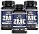 ZMC Carbon - Cálcio, Magnésio e Zinco - Kit com 3 - 360 Caps Unilife - Imagem 1