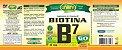 Vitamina B7 Biotina 60 Cápsulas (500mg) - Unilife - Imagem 2