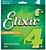 Jogo de Cordas Elixir 4 Cordas 0.45 - Imagem 1