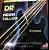 Jogo de Cordas DR NEON Amarelo 4 Cordas 0.45` - Imagem 1