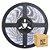 Fita Led Branco Frio 5050 15 metros com Fonte/Carregador - À prova d'água - Imagem 1