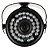 Câmera Segurança de LED Bullet Infravermelho HD 36 LEDs Preta - Imagem 4