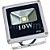 Kit 10 Refletor Holofote LED 10w Verde - Imagem 3