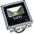Kit 5 Refletor Holofote LED 10w Branco Quente - Imagem 3