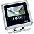 Kit 5 Refletor Holofote LED 10w Branco Frio - Imagem 3