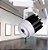 Spot LED 30W Branco Quente para Trilho Eletrificado Branco - Imagem 5