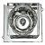 Spot Cristal Led Quadrado Embutir G4 2w - Imagem 3