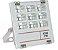Refletor Holofote MicroLED 10W Multifocal Branco Frio Metálico - Imagem 1