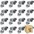 Kit 16 Câmera Segurança de LED Bullet Infravermelho HD 36 LEDs Prateada - Imagem 1