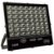 Refletor Holofote MicroLED 200W Multifocal Branco Frio Preto - Imagem 1