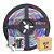 Fita LED RGB Colorida 5050 1 metro com Fonte - Imagem 1