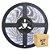 Fita Led Branco Frio 5050 2 metros com Fonte/Carregador - À prova d'água - Imagem 1