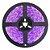 Fita LED 3528 Rosa 5 metros IP65 - À prova d'água - 24W - Imagem 1