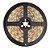 Fita LED 5050 Branco Quente 5 metros IP65 - À prova d'água - 72W - Imagem 1