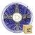 Fita LED Luz Negra Ultravioleta 5050 15 metros com Fonte/Carregador IP30 - Imagem 1