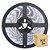 Fita Led Branco Frio 5050 3 metros com Fonte/Carregador - À prova d'água - Imagem 1